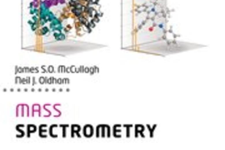 "Cover image of the book ""Mass Spectrometry"""