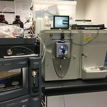 Image of a Thermo Elite mass spectrometer