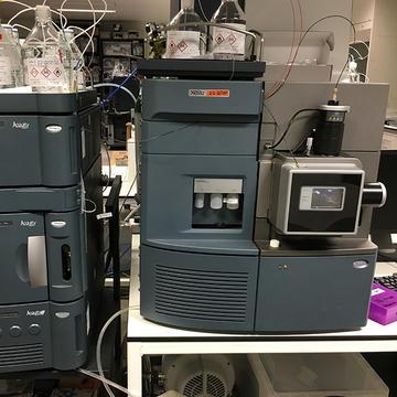 Image of a Xevo G2 QTof used for oligonucleotide analysis