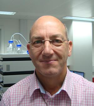 Portrait photo of Colin Sparrow