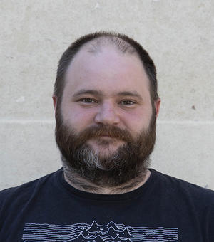 Portrait photo of James Wickens